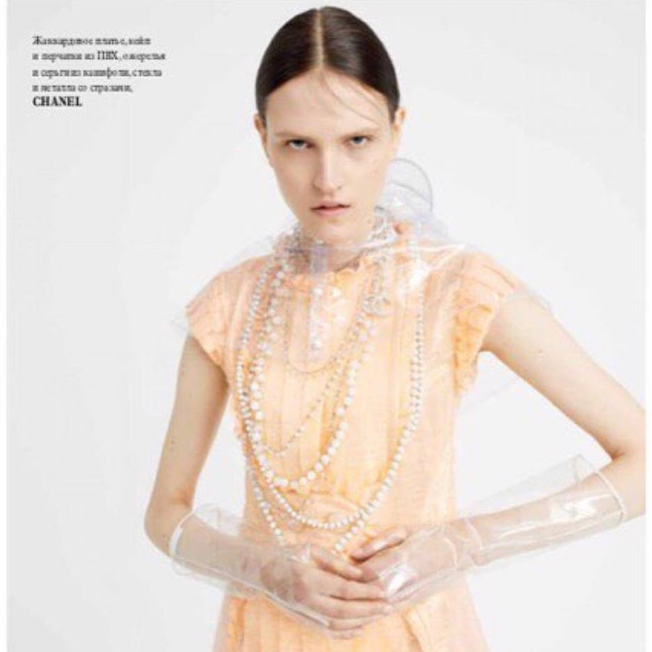 Simona for L'officiel Ukraine June issue!