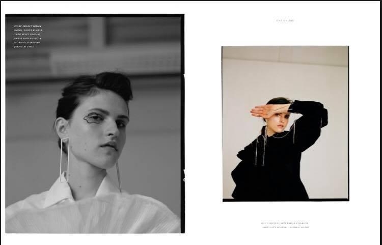 Simona Puidokaite at ONE Magazine!