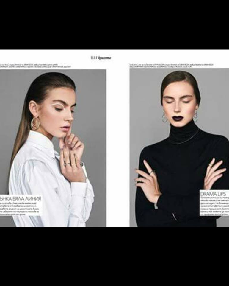 Laura Kerdokaite at ELLE Bulgaria ,April issue 18!