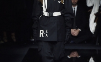 Laura Kerr for Emporio Armani show , Milan Men Fashion Week 2020/21